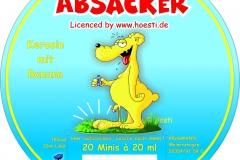 Rundscheibe Deckel ABSACKER