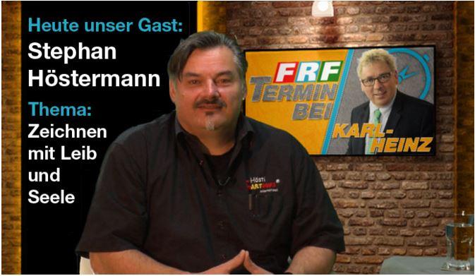 Hösti zu Gast beim TV Sender FRF 1